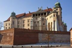 Krakow - Royal Castle - Wawel Hill - Poland Stock Photography