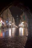 Krakow, rua do florjanska Fotos de Stock Royalty Free