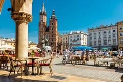 Krakow, Rynek Glowny Stock Image