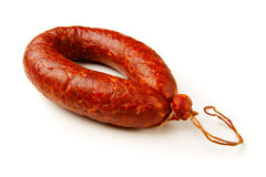 Krakow sausage Stock Photo