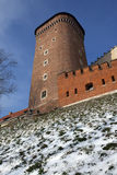 Krakow - Senatorska Tower - Poland Royalty Free Stock Images