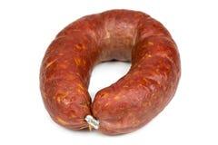 Krakow smoked sausage Stock Images