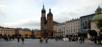 Krakow square Royalty Free Stock Image