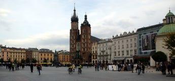 Krakow square Royalty Free Stock Image