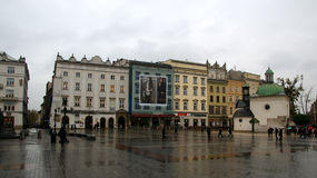 Krakow square Royalty Free Stock Images