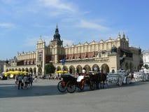 Krakow stad Fotografering för Bildbyråer
