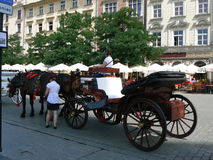 Krakow stad Arkivfoton