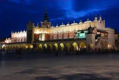 krakow sukiennice Royaltyfria Bilder