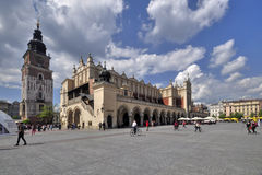 Krakow - Sukiennice Royalty Free Stock Photography