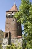 Krakow tower Stock Photography