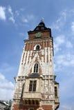 Krakow town hall Stock Photography