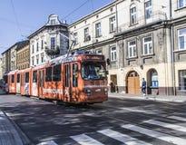 Krakow Tram Stock Image