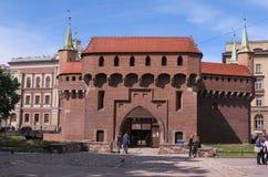 Krakow vakttorn Arkivfoton