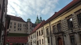 Krakow view Royalty Free Stock Image