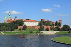 Krakow - Wawel castle Royalty Free Stock Photography
