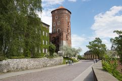 Krakow - Wawel Castle Royalty Free Stock Images