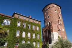 Krakow - Wawel Castle Royalty Free Stock Image