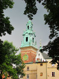 Krakow. The Wawel Castle. Krakow.The Wawel castle Cathedral Stock Photography