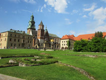 Krakow. The Wawel Castle. The Cathedral Royalty Free Stock Photo