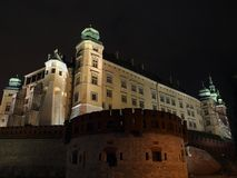 Krakow - Wawel Hill Stock Photography