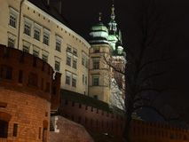 Krakow - Wawel Hill Royalty Free Stock Image
