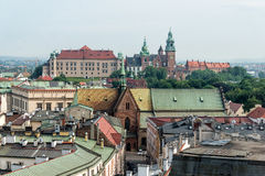 Krakow an Wawel Royalty Free Stock Images