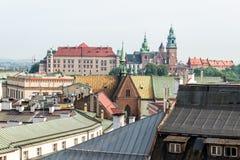 Krakow an Wawel Royalty Free Stock Photo