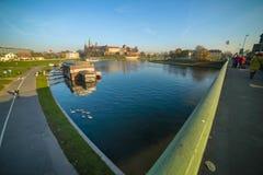 Krakow Wawel view Royalty Free Stock Photo