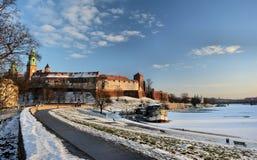Krakowski Wawel wierza fotografia royalty free