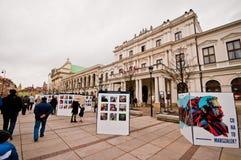 Krakowskie Przedmiescie, Varsovie Images stock