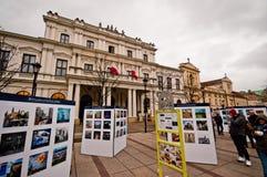 Krakowskie Przedmiescie, Varsovie Image libre de droits