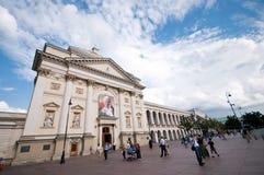 Krakowskie Przedmiescie Warsaw Royalty Free Stock Photo
