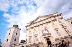 Krakowskie Przedmiescie Warsaw Stock Photography