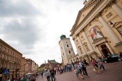 Krakowskie Przedmiescie Warsaw Royalty Free Stock Photography