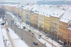 Krakowskie Przedmiescie,  Warsaw, Poland Royalty Free Stock Photos