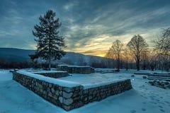 Krakra fortres near Pernik, Bulgaria. Stock Image