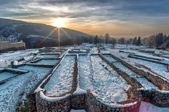 Krakra fortres near Pernik, Bulgaria. Stock Photography