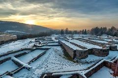 Krakra fortres near Pernik, Bulgaria. Royalty Free Stock Image