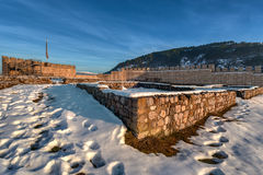 Krakra fortres near Pernik, Bulgaria. Royalty Free Stock Photo