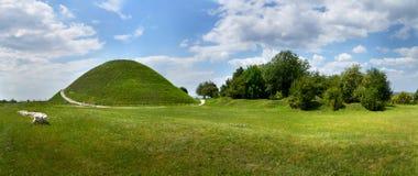 Krakus kulle, en förhistorisk allvarlig kulle i Cracow, Polen Royaltyfri Bild