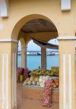 Kralendijk - Bonaire fuit market Royalty Free Stock Photos