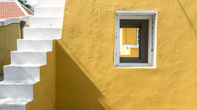 Kralendijk - Bonaire window Royalty Free Stock Photography