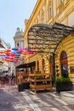 Kraljapetra straat in Belgrado Stock Fotografie