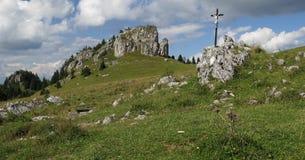 Kralova studna in Velka Fatra mountains in Slovakia Royalty Free Stock Photography