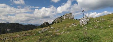 Kralova studna in Velka Fatra mountains in Slovakia Stock Images