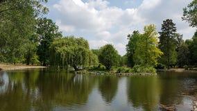 Kralovska park Obora-Stromovka Fotografia Royalty Free