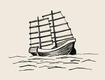 Kram, Hand gezeichnete Skizze Lizenzfreie Stockbilder