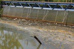 Kram im Kanal Lizenzfreies Stockbild