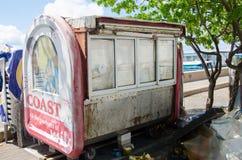 Kram przy doku terenem przy samiec Zdjęcie Stock