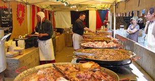 Kram z różnorodnymi mięsnymi snaks obrazy stock